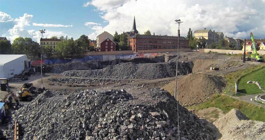 Utbyggingen av nye Jordal Amfi kan bli to år forsinket. Foto: Wikimedia Commons