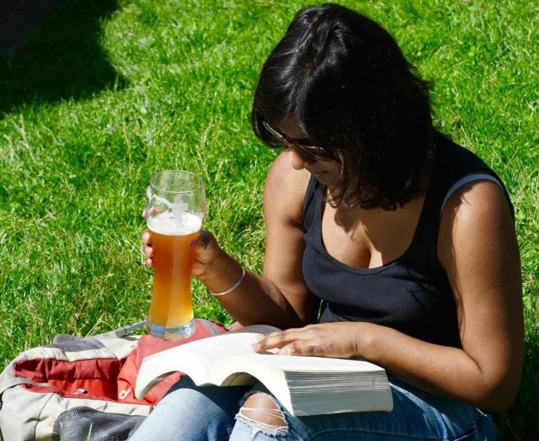 MDG ungdom ønsker nye og friere regler for øldrikking i parken. Foto: Pxhere