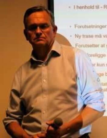 Lars Mork Gundersen i Bane NOR lover å gjøre det han kan for at oppkjøp av eiendommer skal gå så lett og skånsomt som mulig. Foto: Christian Boger