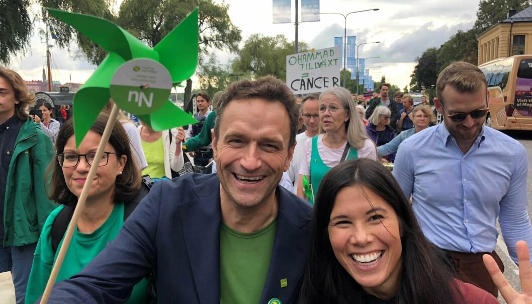 Vikarierende byråd for miljø og samferdsel Arild Hermstad og byråd Lan Marie Nguyen Berg fikk onsdag flertall for Oslos nye klilmastrategi i bystyret.