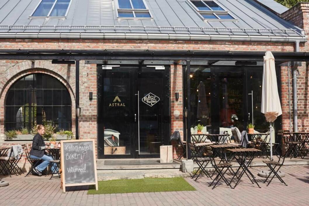 Veggismandag besøker Kolonihagen bakeri. Maten er digg, servicen halvveis. Foto: Mandel og Sesam
