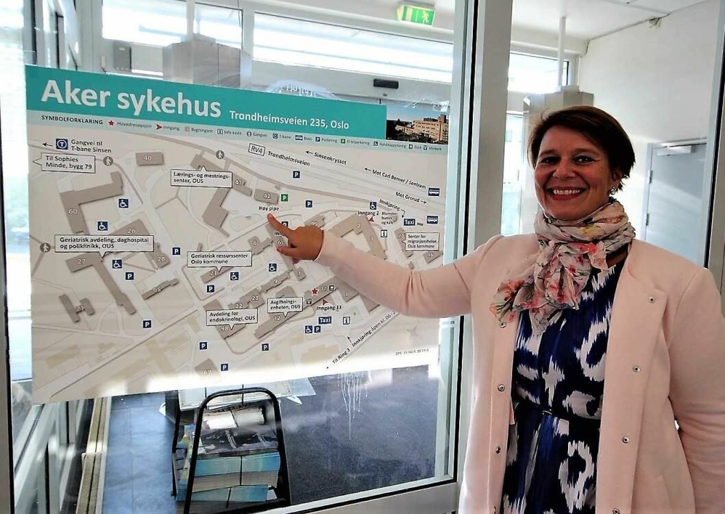 Her åpner vi den nye storbylegevakta i 2023, smiler helsebyråd Tone Tellevik Dahl (Ap) Foto: André Kjernsli