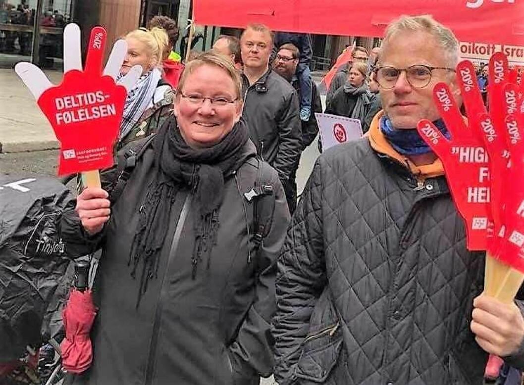 Siri Sætre Follerås er glad for at kommunen tar over Uranienborghjemmet. Foto: Privat