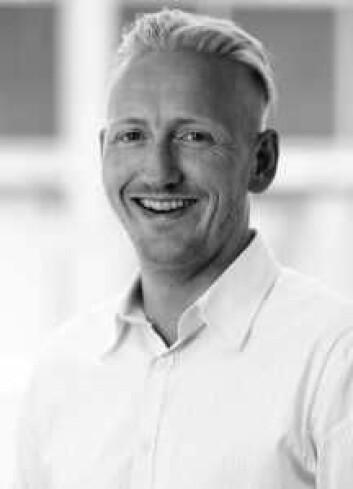 Nils Erlimo, kommunikasjonsdirektør hos Swedish Match.