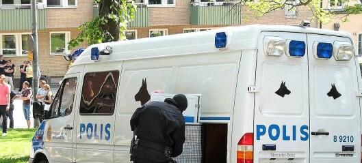Politietterforsker: – Svenske tilstander i Oslo, kun fryktretorikk