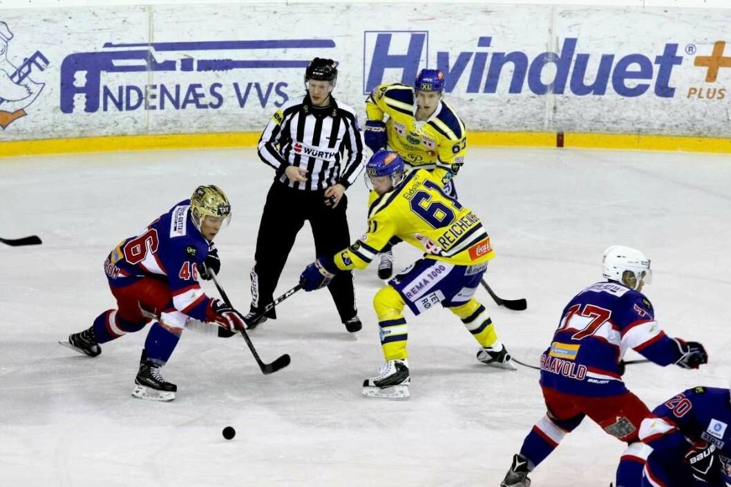 I dag spiller Vålerenga el classico innen ishockey mot Storhamar. Arkivfoto: Atle Enersen