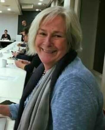 Leder av Grønland beboerforening Berit Jagmann mener rusomsorgstilbudet Fyrlyset må flytte fra dagens lokaler i Urtegata. Foto: Grønland Beboerforening