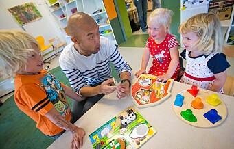 – Da Høyre styrte var det lange køer i barnehagene og for få ansatte