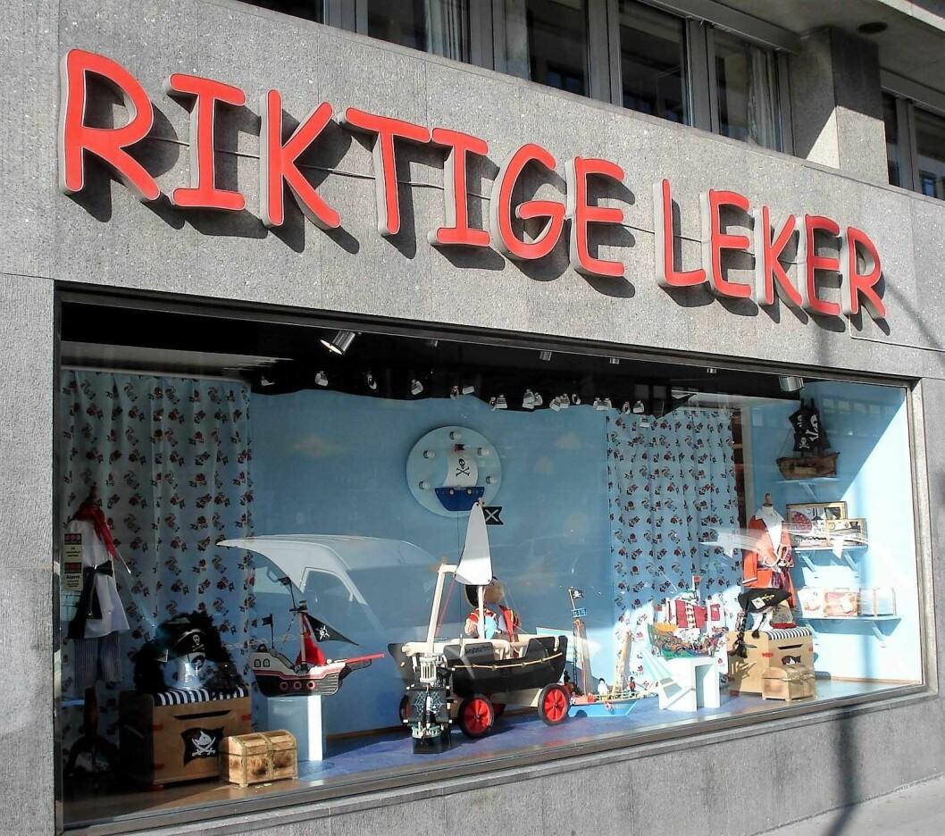 Riktige leker er en tradisjonsrik leketøysbutikk i Oslo sentrum. Foto: Tom Magliery / Flickr