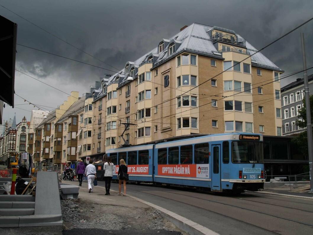 Stormen i Oslo fredag kveld er oppjustert til rødt nivå. Foto: Robot Brainz / Flickr
