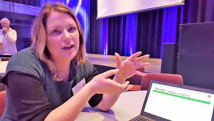 Prosjektleder Anita Lindahl Tronsdahl kan by på et bredt program for miljøhovedstadsåret 2019. Arkivfoto: Tarjei Kidd Olsen
