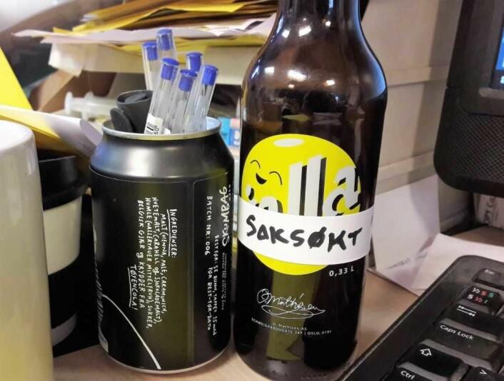 Jallasprite og alle spor av denne skal vekk fra markedet, krevet nå The Coca-Cola Company. Foto: Anders Høilund