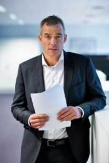 Knut Andreas Bostad, seksjonssjef i Patentstyrets design- og varemerkeavdeling