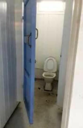 Standarden på dagens toaletter på Huk er ikke det største problemet. Foto: Anders Høilund