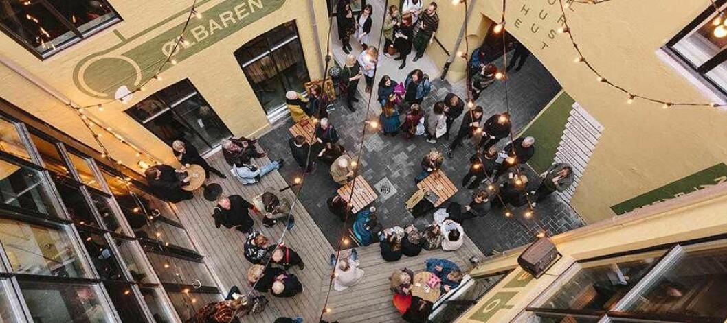 Bakgården på Kulturhuset 2.0. Foto: Jan Khur