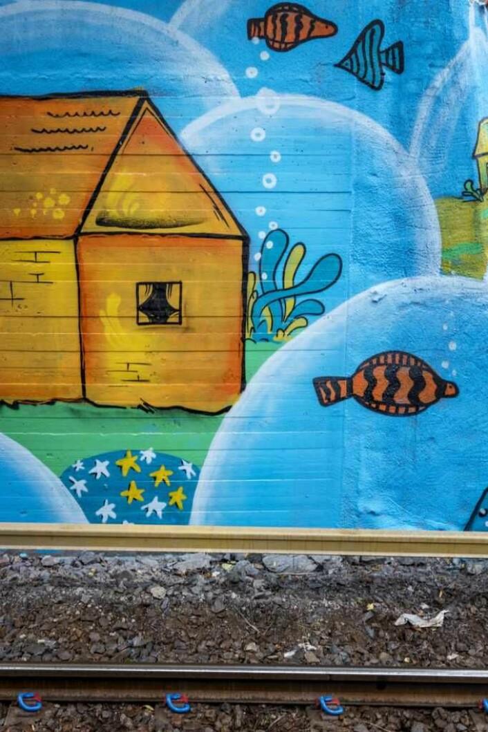 En verden under vann? Foto: Sporveien