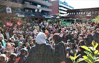 I dag sto Tøyenbygda sammen mot rasisme