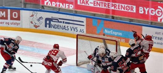 VIF hockey slukket Stjernen på hjemmebane