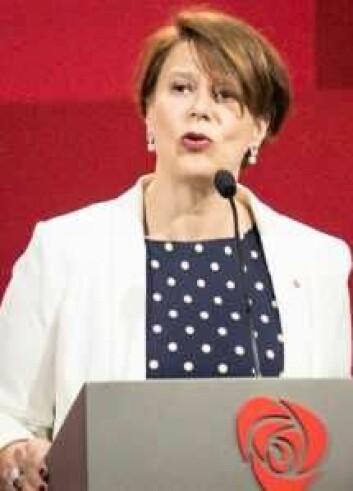 Tone Tellevik Dahl under Arbeiderpartiets landsmøte 2017