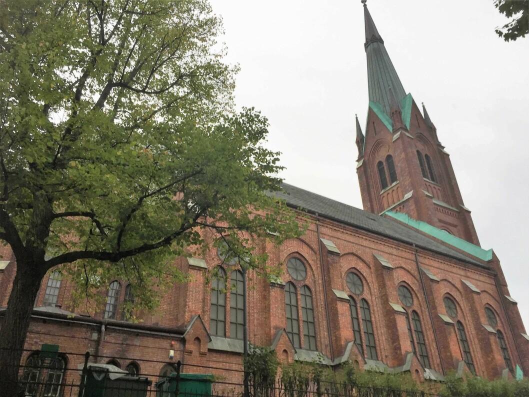 Uranienborg kirke. Foto: Kjersti Opstad