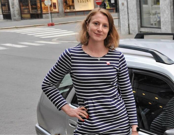 Oslo SVs leder, Sunniva Holmås Eidsvoll, mener partiet trenger mer tid til å vurdere et forsøk med obligatorisk vaksinering av oslobarn. Foto: Christian Boger