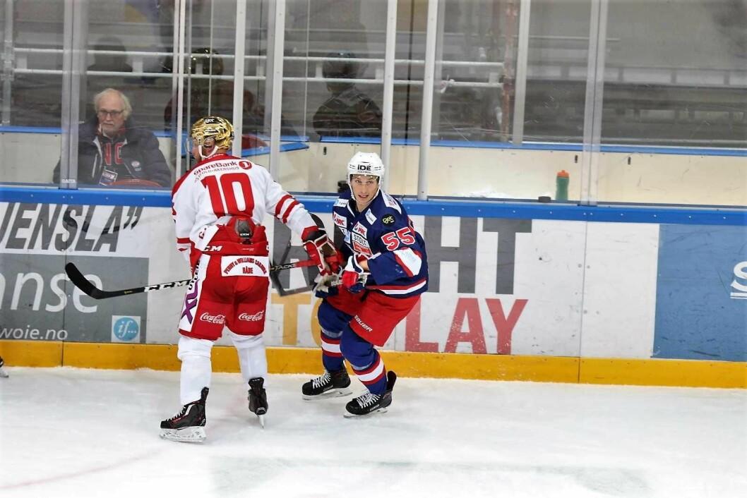 Forsvarsveteran og ex-kaptein Brede Csiszar mener Vålerenga hockey må tørre å si at laget skal vinne serien. Foto: Atle Enersen