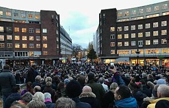 Oslos politikere avviser den sjette bomprotesten på ett og et halvt år