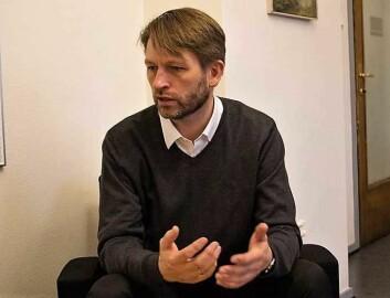 Gruppeleder for Høyre i bystyret, Eirik Lae Solberg, mener bystyret må sikre at det blir ungdomsklubb i presteboligen i Stensparken. Foto: Kyrre Songstad Seim