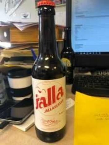 X-ene i JALLAXXXXXX får det til å se ut som navnet Jallasprite er sensurert, sier Coca-Colas advokast. Foto: O. Mathisen