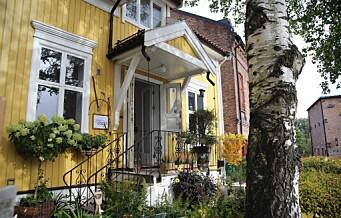 I et gult trehus på Sagene åpnet nylig blomsterbutikken Verksted Jord. Møbler, blomster og bøker: alt i huset er til salgs