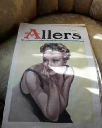 Allers fra 1936 selges i Versted Jord. Foto: Anders Høilund