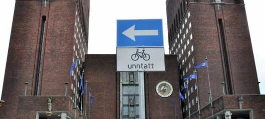 Oslopolitikernes gratisparkering i rådhuset fjernes