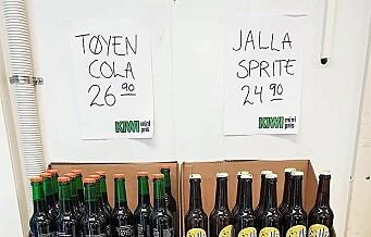 I dag skal Jallasprite for retten. Coca-Cola Company krever erstatning og forbud