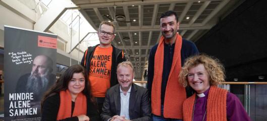 Hvordan kan Oslo bli en mer inkluderende by? Årets mottakere av TV-aksjonen inviterte til diskusjon på Oslo S