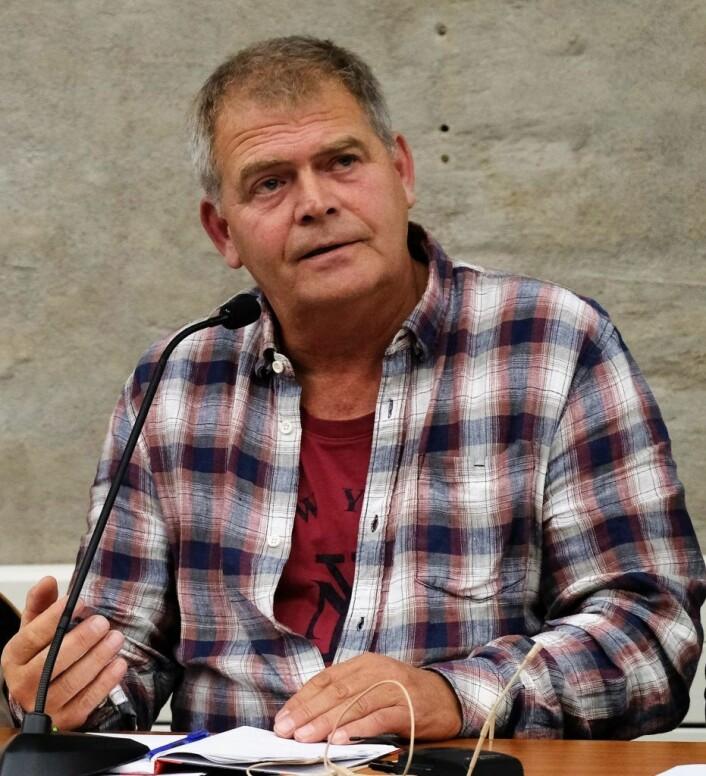 Hovedtillitsvalgt Bjørn Wølstad-Knudsen mener utbyggingsplanene på Gaustad må settes på vent. Foto: Christian Boger