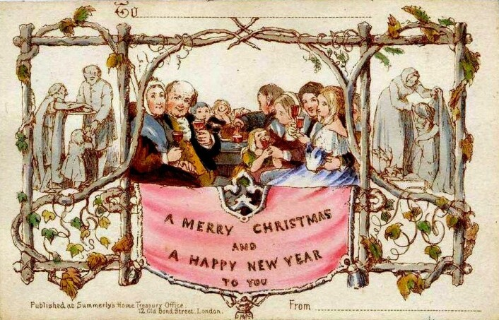 Verdens antatt første julekort ble tegnet i 1843 av britiske John Calcott Horsley. I Norge har vi sendt julekort siden 1900.