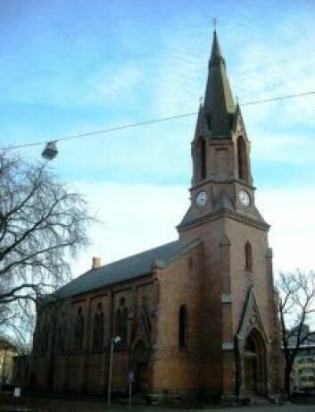 Kulturkirken Jakob. Foto: Norske kirker