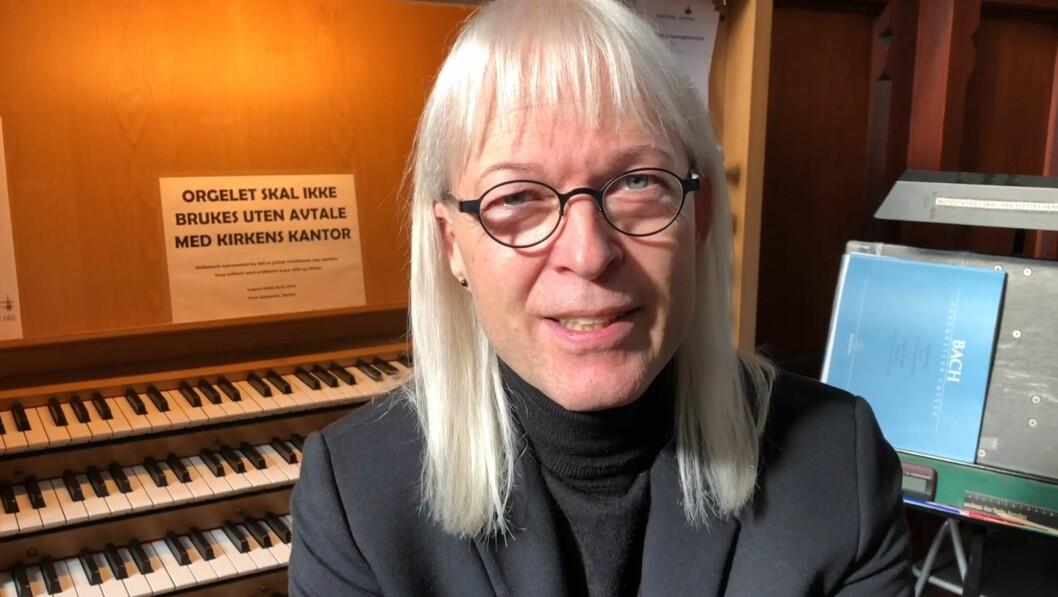Kantor Stein Skøyeneie. Skjermbilde fra video av Thea Leivestad
