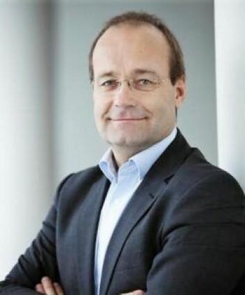 Fungerende styreleder i Omsorgsbygg, Johan Arnt Vatnan, vil ikke si om styret fortsatt har tillit til administrerende direktør, Per Morten Johansen. Foto: Prosjekt Norge