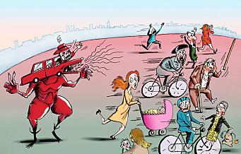 Hets, løgn og drapstrusler – hvorfor blir bilistene så rasende?