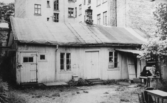 Kassesnekkeriet der Vålerengens Iderettsforening ble stiftet for over 105 år siden. VIF har naturlig nok en sentral plass i den nye boka. Foto: Digitalt museum