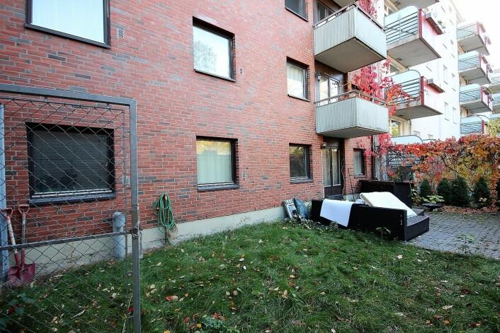� Et utfordrende åsted, sier politiet om leiligheten i Arbos gate på Majorstua der Heikki Bjørklund Paltto ble drept. Foto: André Kjernsli