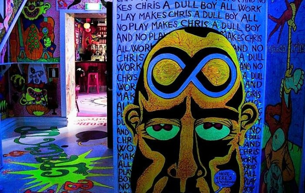 Tegneseriekunstner Christopher Nielsens Misfornøyelsesbar i Storgata står i fare for å måtte stenge for godt ved nyttår. Arkivfoto:  Immy Rempis / VårtOslo