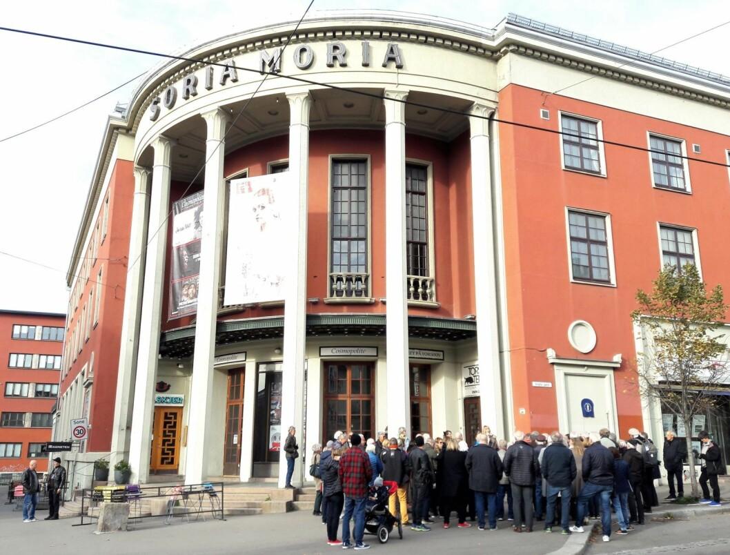 Alle kjenner Soria Moria på Torshov. Kulturbygget er sammen med Asbjørg Borgfelts Oksefontene selve symbolene på Torshov. Foto: Anders Høilund