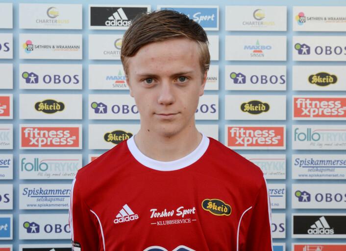 En lei hofteskade gjør at Jens Braathen Rognved (21) ikke lenger kan satse på fotball. Foto: Anders Vindegg