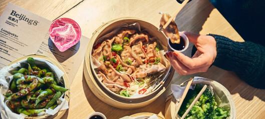 Beijing8 på Tjuvholmen serverer vegansk lunsjmeny på kinesisk