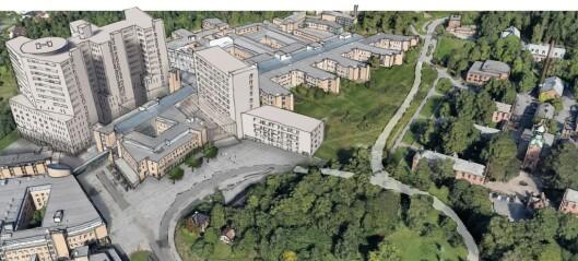 Nytt sykehus på Gaustad: LO i Oslo sier stopp