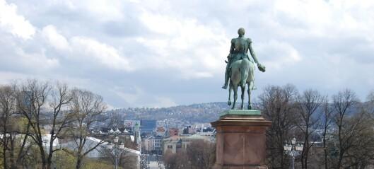 Kong Karl Johan lot svenske krigsskip skyte blankt mot Akershus festning