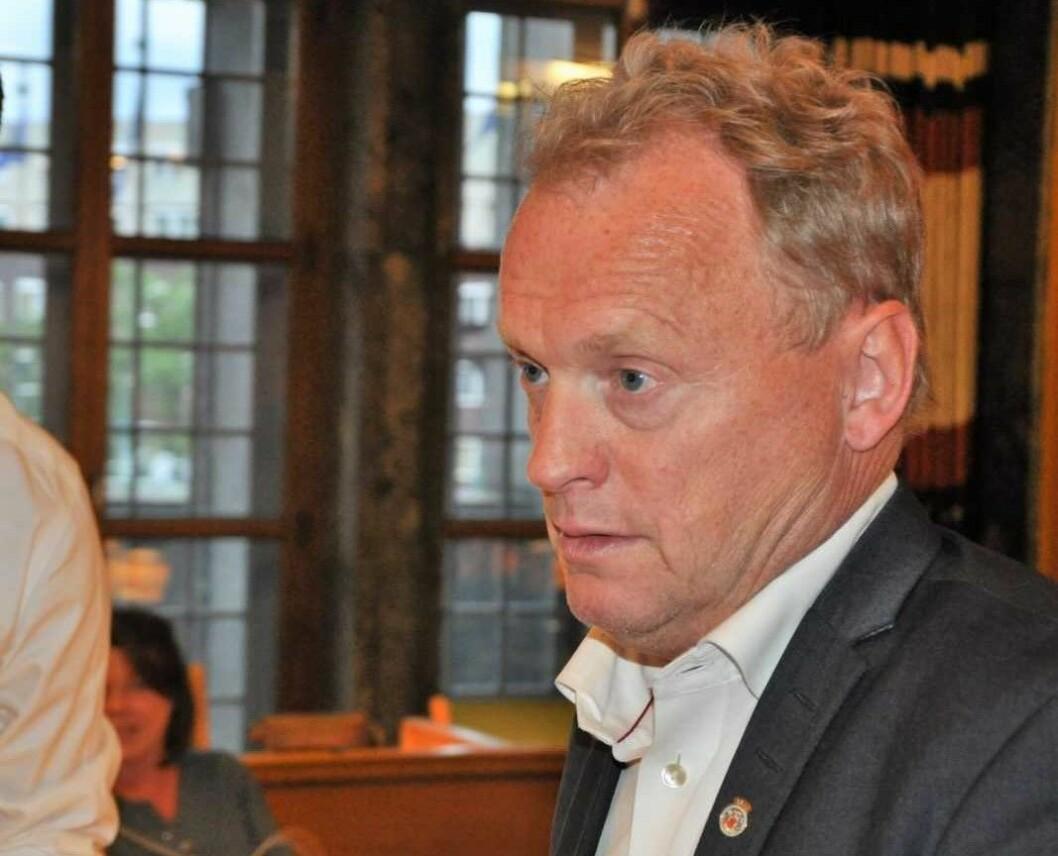 Under bystyremøtet denne uken viste det seg at kun AP og Høyre støtter et nytt Gaustad sykehus. Foto: Arnsten Linstad