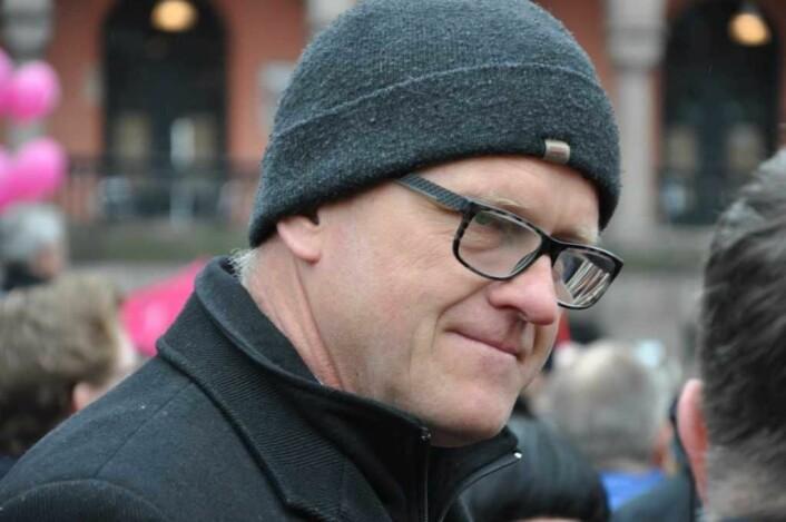 Gruppeleder for Arbeiderpartiet, Frode Jacobsen, frykter bystyret er i ferd med å rote det til i debatten om nye sykehus i byen. Foto: Arnsten Linstad